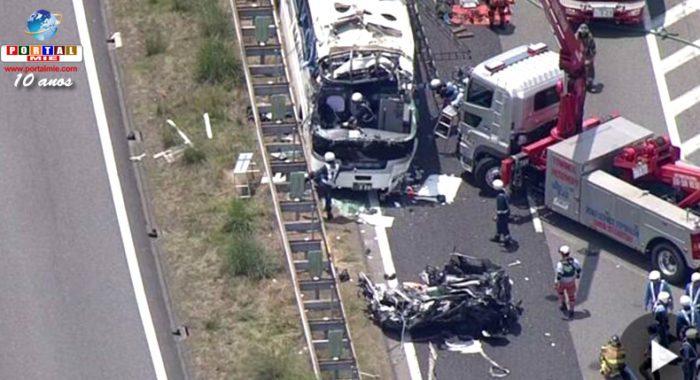 &nbspAichi: grave accidente en la Tomei dejó 1 muerto y más de 40 heridos