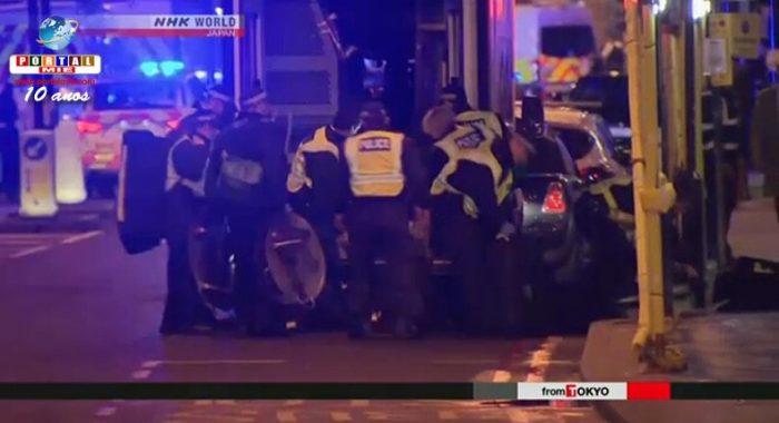 &nbspJapón alerta a sus ciudadanos en Londres después de ataque terrorista