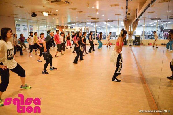 &nbspSalsation la danza que está volviéndose un boom en Japón