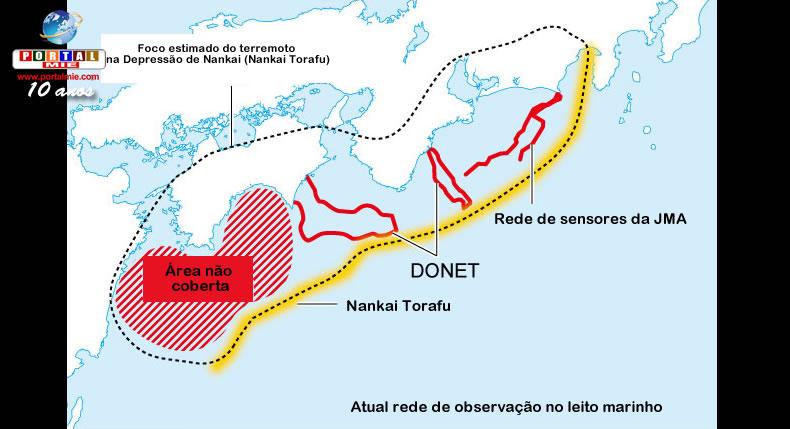 &nbspSistema de alerta para el  terremoto Nankai Torafu será ampliado
