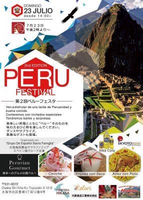 &nbsp2nd Edition Perú Festival en Osaka