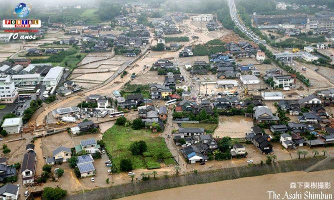 &nbspCatástrofe en Kyushu: 3 víctimas del deslizamiento, 1 muerto y cae el número de desaparecidos