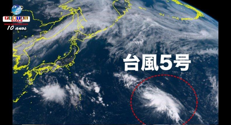 &nbspTifón Nº5 se forma en el Pacífico