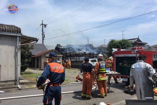 Incendio consume casa de familia latina en Mie