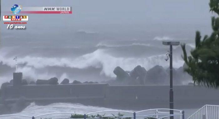 &nbspPasada del tifón Nº5 por Japón deja por lo menos 2 muertos y decenas de heridos