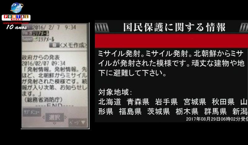 &nbspAltavoces  de alerta fallan a la hora de informar sobre el misil norcoreano