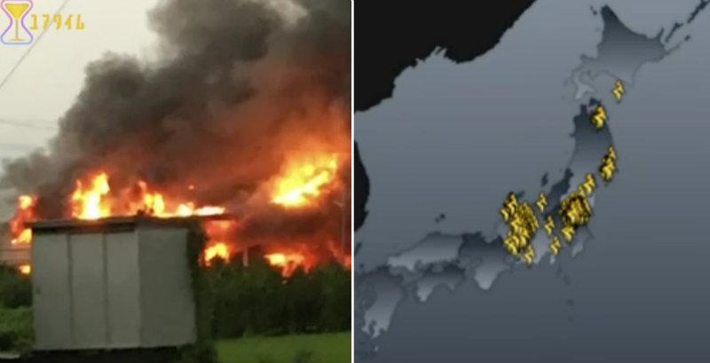 &nbspSupercélula fue la causa de los rayos que provocaron incendios y apagones