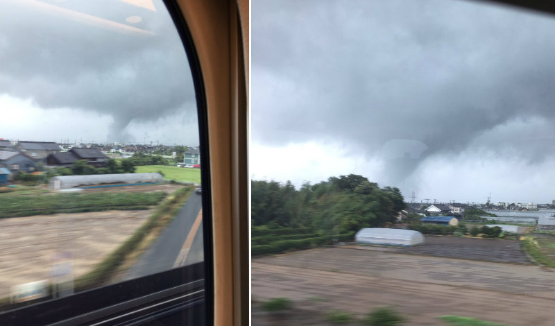 &nbspDaños en Aichi, Gifu y Mie causados por el tifón n.º 5