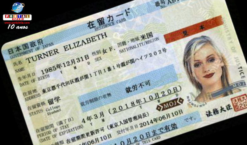 Chino es preso por presentar Zairyu Card falsificado