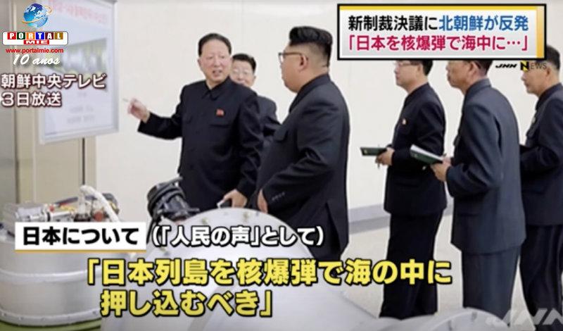 &nbspCorea del Norte: 'debería hundir el archipiélago  japonés con bomba nuclear'