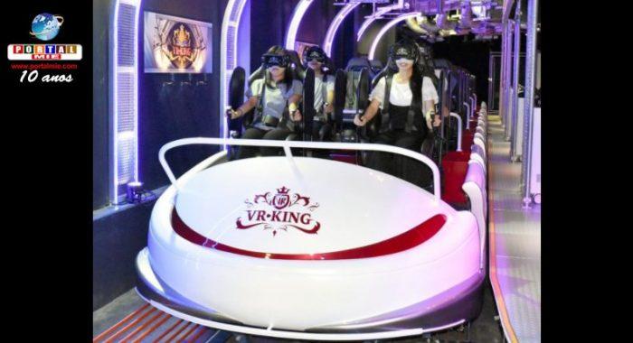 Montaña rusa virtual mas emocionante del mundo es inaugurada en parque temático en Japón