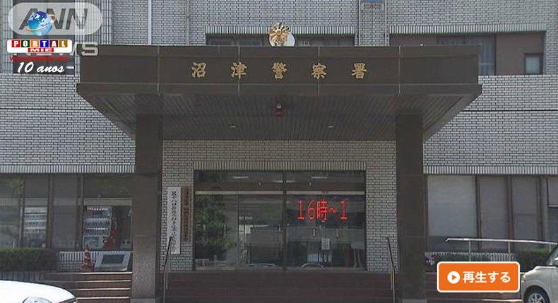 Hombre es preso por intentar robar carro de policía en Shizuoka