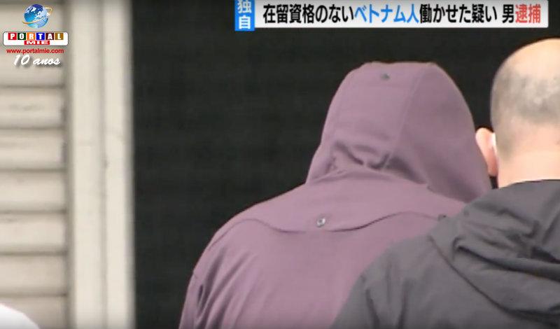 &nbspDirector de empresa contratista de Nagoya es preso por contratar ilegales
