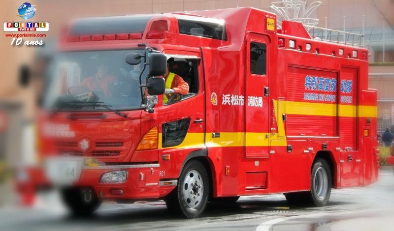 &nbspÓmnibus con niños choca con camión, en Hamamatsu