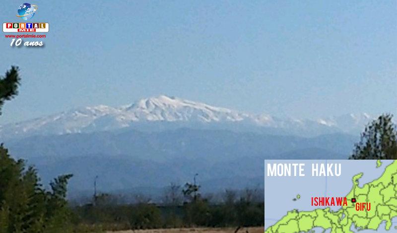 &nbspMás de 280 terremotos volcánicos en el monte entre Gifu e Ishikawa
