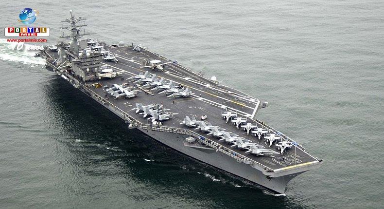 EUA va realizar ejercicio con 3 portaaviones mientras Trump visita Asia