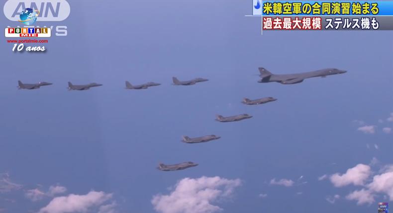 &nbspFuerzas aéreas de EUA y  Corea del Sur inician ejercicio conjunto
