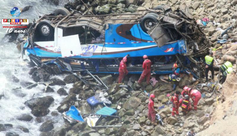 &nbspTrágico accidente en Perú causa 51 muertes