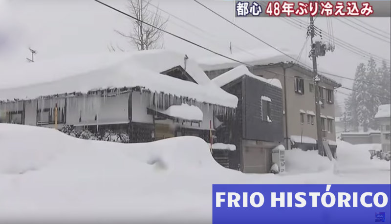 &nbspFrío histórico en Japón: -30ºC en Hokkaido