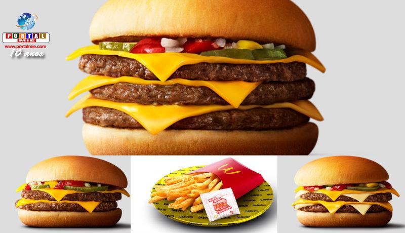 &nbspMucho más queso en los sandwiches McDonald's