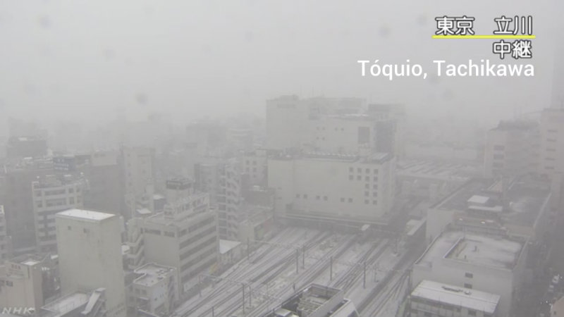 &nbspTemperaturas bajas y nieve