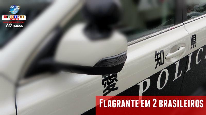 &nbspPolicía de Aichi arresta 2 brasileños