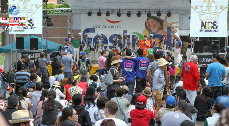 &nbspFestival latinoamericano en Nagoya en el Golden Week