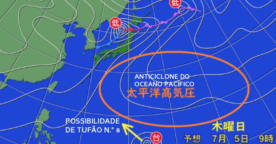 Será un nuevo tifón, el de número 8?