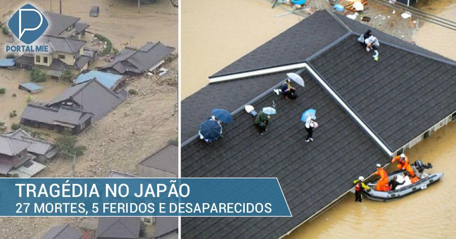 Tragedia causada por la lluvia: 27 muertes y 5 gravemente heridos