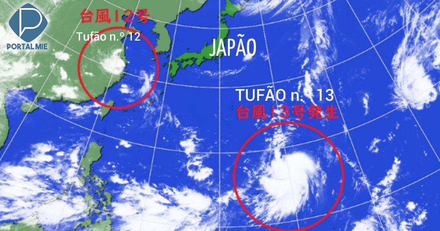 &nbspTifón número 13: posibilidad de alcanzar a Japón