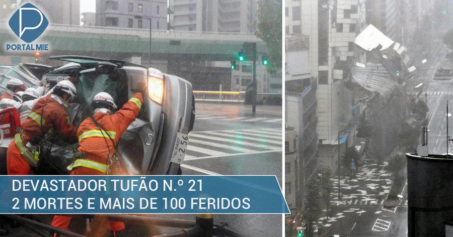 &nbspDos muertes y más de 100 heridos: víctimas del tifón n.º 21