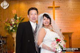 &nbspMatrimonio de Hiroshi y Yessica en Aichi