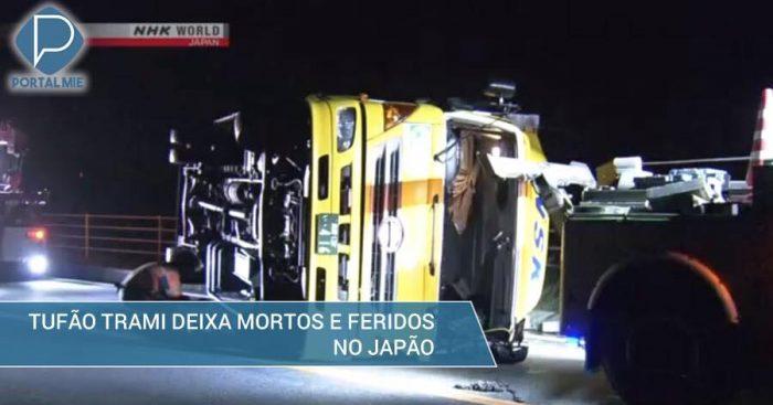&nbspFuerte tifón Trami causa daños en Japón