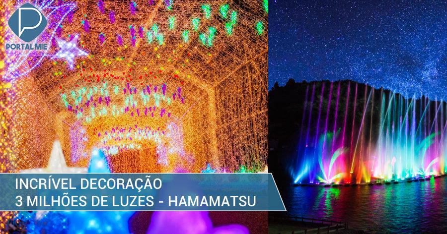 &nbspTres millones de lámparas en la iluminación en Hamamatsu