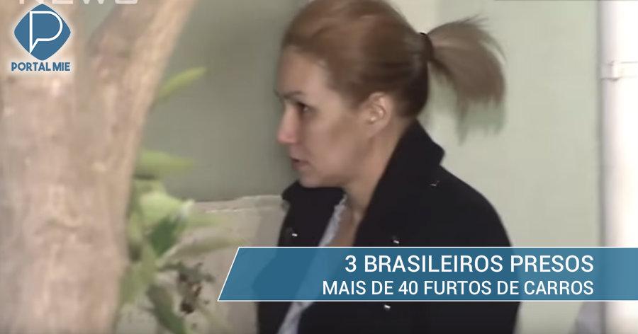 &nbspPareja brasileña presa, sospechosos de más de 40 robos de carros