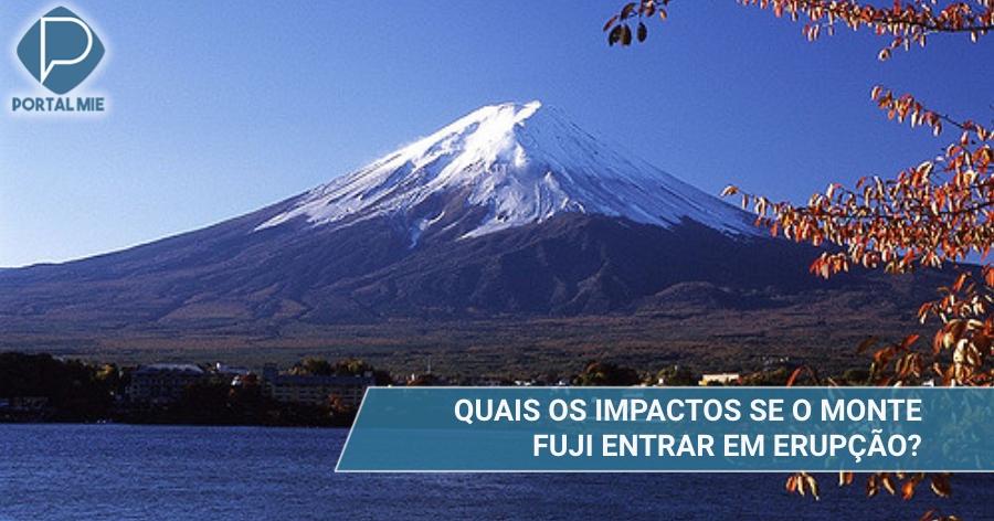&nbspConozca lo que ocurrirá en caso que el Monte Fuji entre en erupción