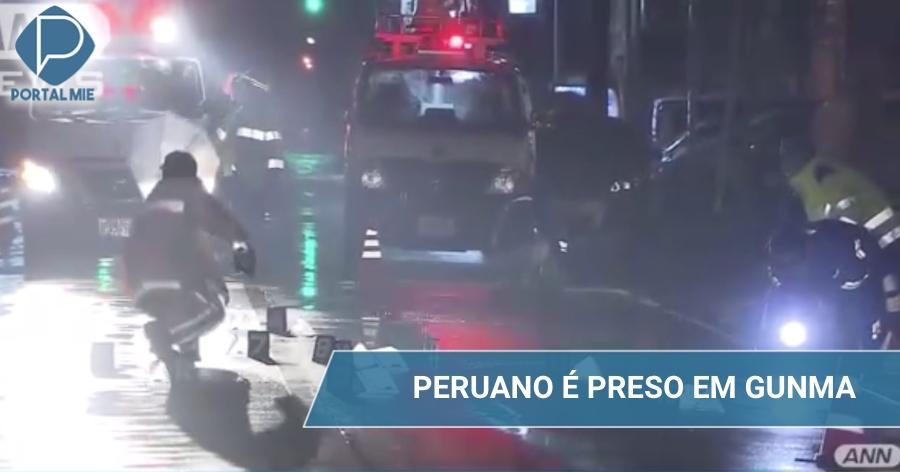 Peruano huye después de atropello pero es encontrado
