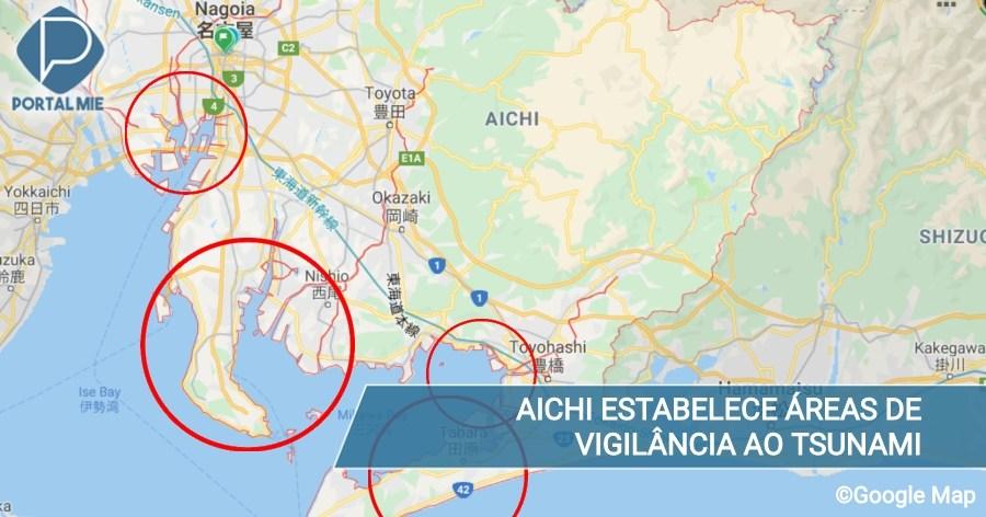 &nbspAichi establece nuevas áreas de vigilancia por daños del tsunami