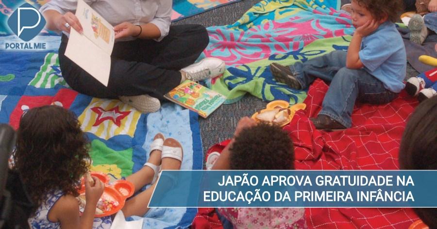 &nbspAprobado la gratuidad en la educación de primera infancia en Japón