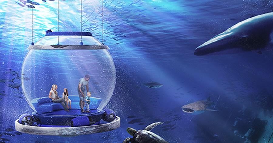 """&nbspEmpresa en Japón planea ofrecer paseo a bordo de un """"globo del mar"""""""