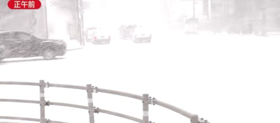 &nbspNevada en Hokkaido y nieve en Hokuriku y Kanto-Koshin