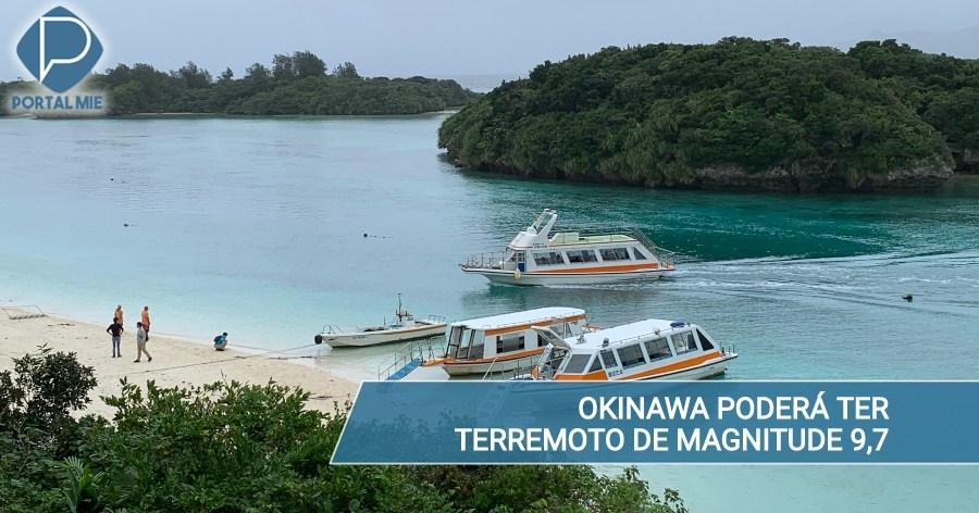 &nbspTemor de gran terremoto de magnitud9,7 en Okinawa