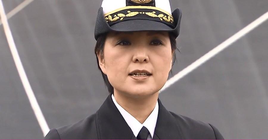&nbspMujer asume el comando del destructor Aegis de la Fuerza Marítima de Autodefensa