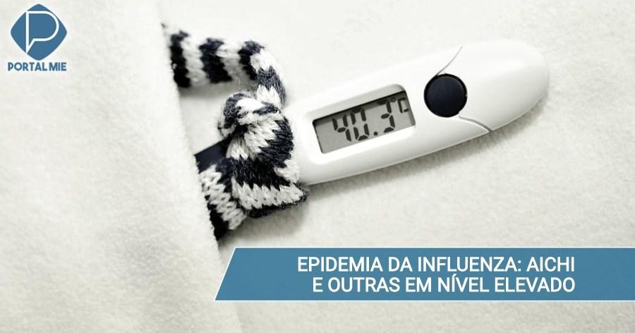&nbspInfluenza: aumento del número de pacientes y Aichi es la peor del país