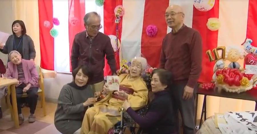 &nbspJaponesa de 117 años extiende récord como la persona más vieja del mundo