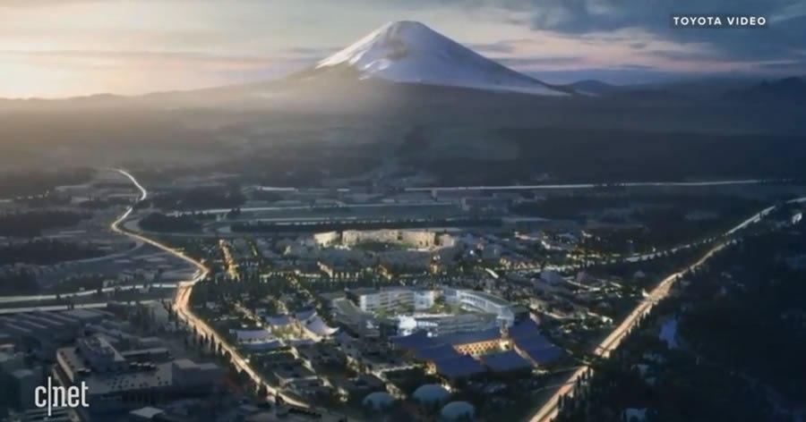 &nbspToyota planea construir prototipo de 'ciudad del futuro' cerca del Monte Fuji