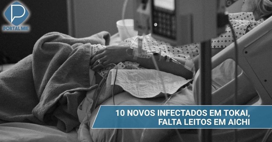 &nbspAichi tiene 104 casos confirmados de coronavirus y preocupación con camas