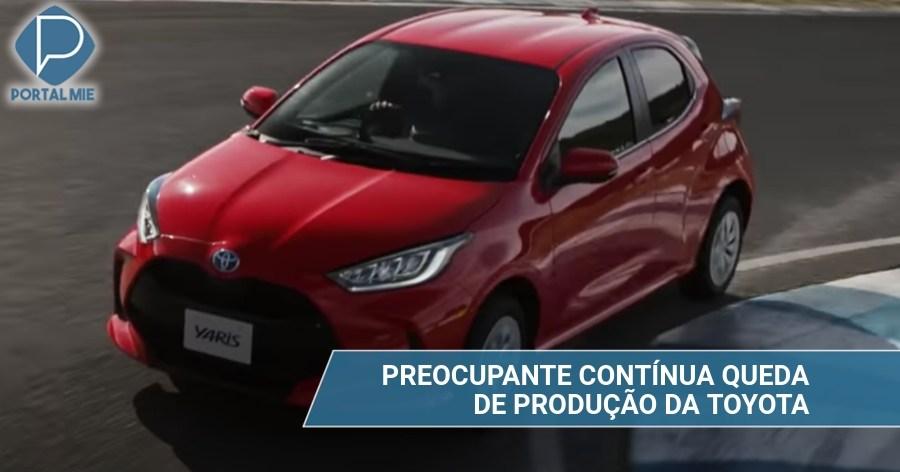 &nbspCaída de producción de Toyota afecta industrias de piezas automotrices