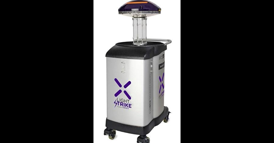 &nbspRobot que usa luz ultravioleta destruye el coronavirus en 2 minutos
