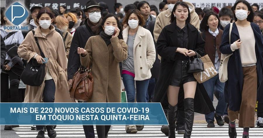 &nbspCoronavirus: más de 220 nuevos casos en Tokyo este jueves